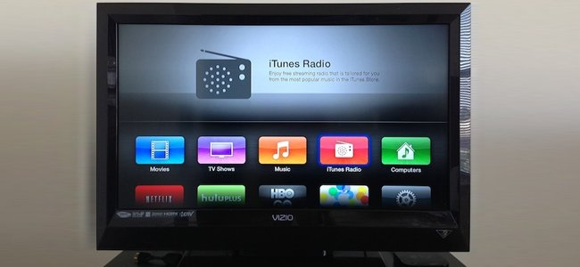 AppleTV recibe actualización, agrega iTunes Radio, AirPlay y más
