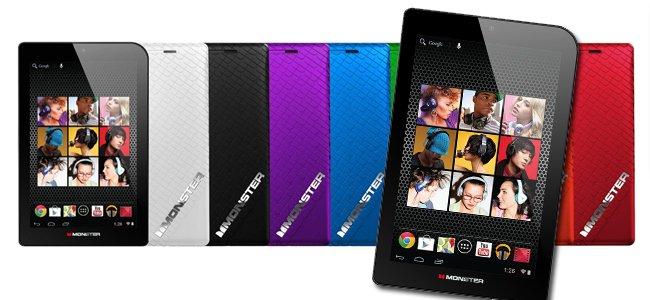 Monster lanza nueva línea de tabletas M7.