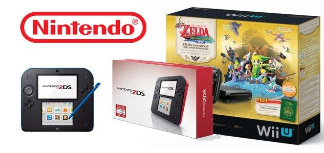 Nintendo descuenta el Wii U y presenta nuevo portátil 2DS además de nuevos títulos