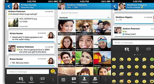 BBM lanza App para accesar su servicio de mensajes