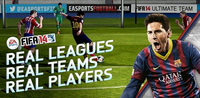Fifa 14 llega a dispositivos iOS y Android como App Gratis