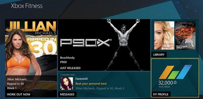Xbox One debuta  servicio de entrenamiento físico Xbox Fitness