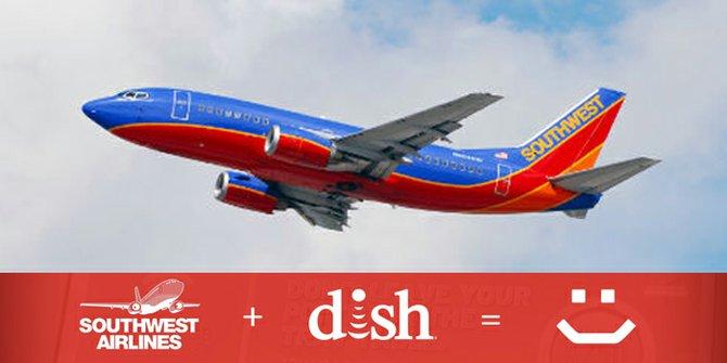 DISH + iPad2 Gratis + Southwest Airlines = ¡El mejor viaje!