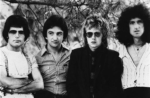 La banda de rock Queen.