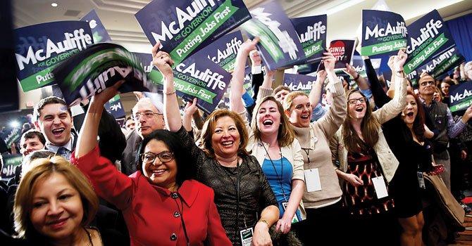 Virginia: McAuliffe ganó, ahora latinos pasarán factura