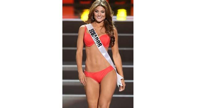 Miss Ecuador, Constanza Baez,