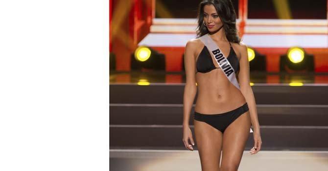 Miss Bolivia Alexia Viruez