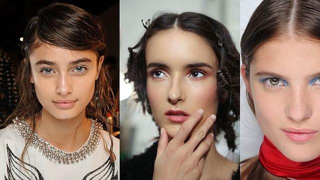 Tendencias de maquillaje para Otoño-Invierno (Créditos de las fotos: Phillip Lim/Reem Acra/Marc Jacobs)