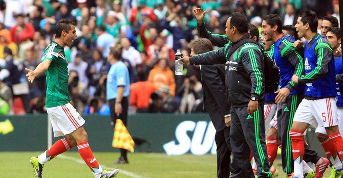 México vuelve a soñar con Brasil 2014