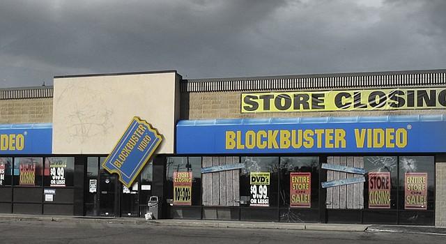 Las tiendas de Blockbuster solo seran un recuerdo