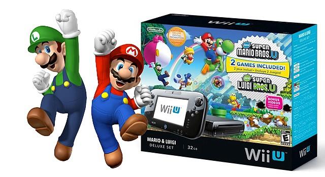 Nuevos Sets de WiiU ahora con Mario y Luigi