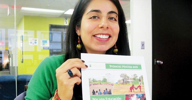 Impulsan proyecto de 1.000 mochilas para niños en Perú