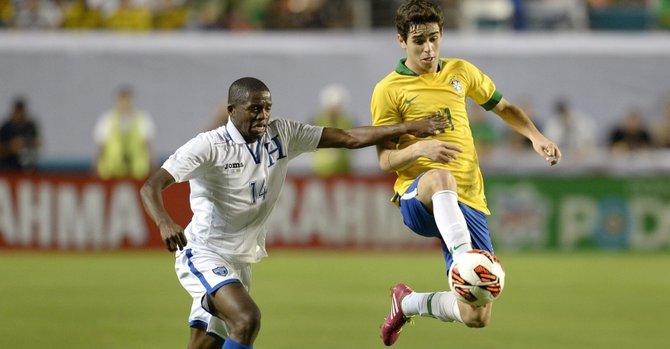 Honduras deja dudas en goleada ante Brasil