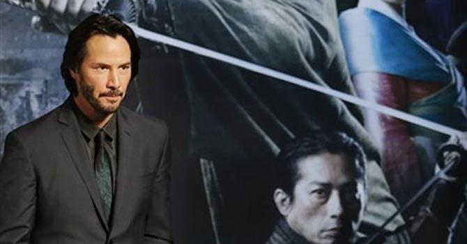 Historia japonesa en la piel de Keanu Reeves