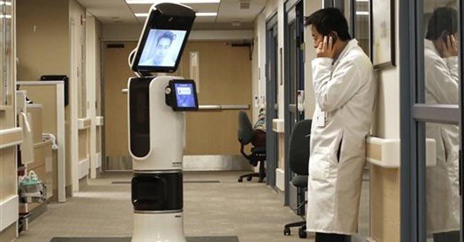 Robots ayudan a médicos