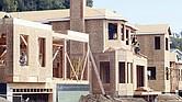 CONSTRUCCIÓN. La construcción de nuevas viviendas es un indicio de la recuperación del mercado inmobiliario.