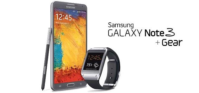 El Note 3 y el Galaxy Gear de Samsung funcionan ligados