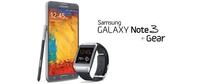 Galaxy Note 3 y Galaxy Gear…..una súper pareja que no puede estar separados