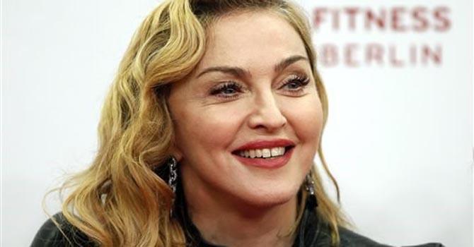 Cantante Madonna.