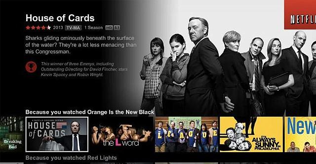 Netflix actualiza su interface de usuario