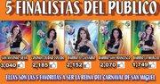 GANÓ EL CALVARIO. En Facebook, el Carnaval de San Miguel mencionaba a las finalistas.
