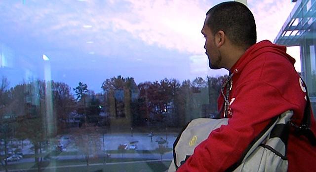 METAS. Carlos Perdomo planea graduarse de Montgomery College en mayo de 2014. El programa de mentoría de Future Link lo ayudó.