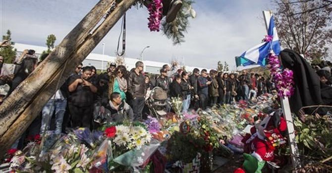 Miles en homenaje a Paul Walker en California