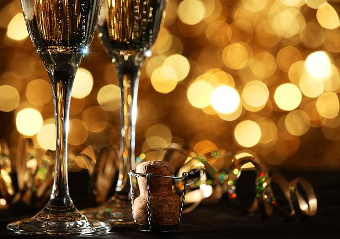 Cócteles Espumantes con y sin alcohol para las Fiestas
