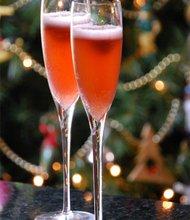 Recetas para Cócteles Espumantes con y sin alcohol para las Fiestas