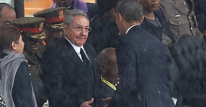 Qué le dijo Castro a Obama cuando lo saludó