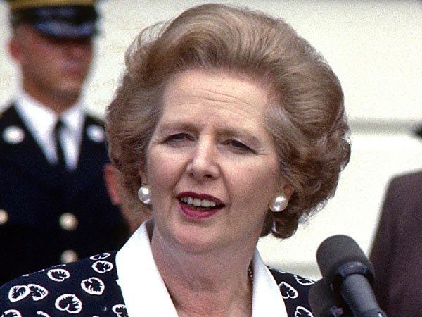 """Margaret Tatcher murió el 8 de abril a los 87 años. Conocida como """"La Dama de Hierro"""", lideró el Reino Unido en la época de la Guerra de Malvinas, contra Argentina."""