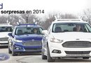 Este Ford Fusion Híbrido combina tecnologías avanzadas basadas en radar y cámaras de vídeo con sensores de infrarrojos instalados en el techo del vehículo.