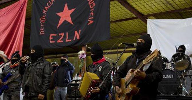 Movimiento zapatista mexicano cumple 20 años