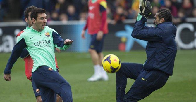Barça y Atlético preparan duelo por la cumbre