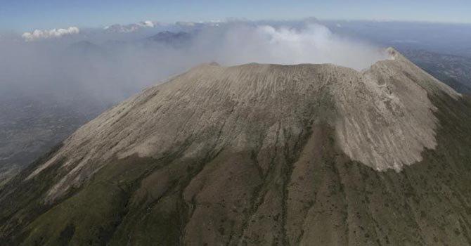 Primer hospitalizado por inhalar cenizas de volcán