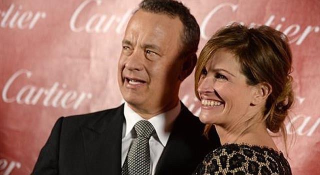 Tom Hanks y Julia Roberts.