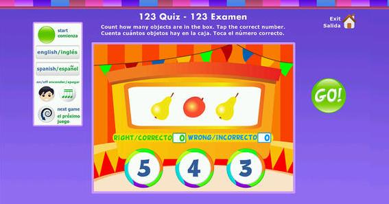 Number Fiesta app