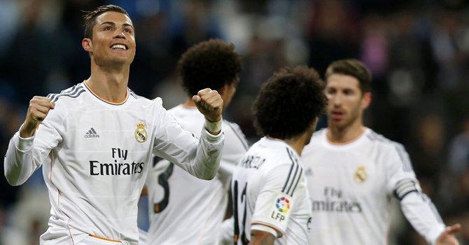 Ronaldo es el líder goleador en España