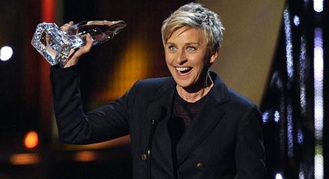 Ellen DeGeneres acepta el Premio People's Choice a la presentadora favorita de la TV matutina, el miércoles 8 de enero del 2014 en el Teatro Nokia de Los Ángeles.