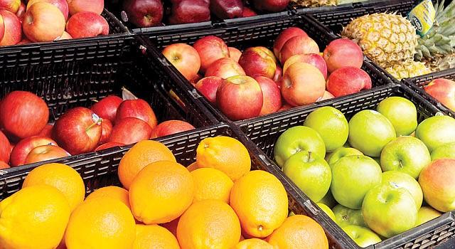 ALIADOS. Las frutas y verduras son los mejores amigos de un organismo saludable.