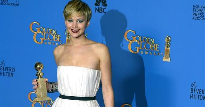 Jennifer Lawrence sigue su carrera meteórica