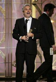 """Alfonso Cuarón, director de """"Gravity""""."""