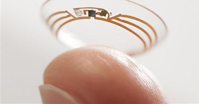 Google crea lente de contacto que mide la glucosa