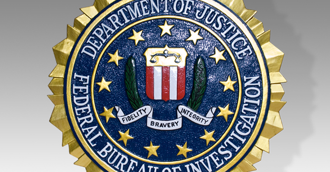 Logo del FBI.