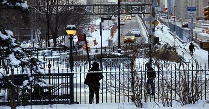 De a poco se reanudan labores tras tormenta invernal