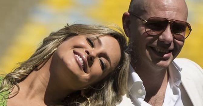 Pitbull, JLo y Leitte cantarán el himno del Mundial