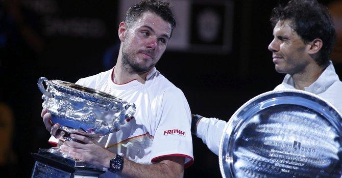 Wawrinka sube a las alturas del tenis mundial