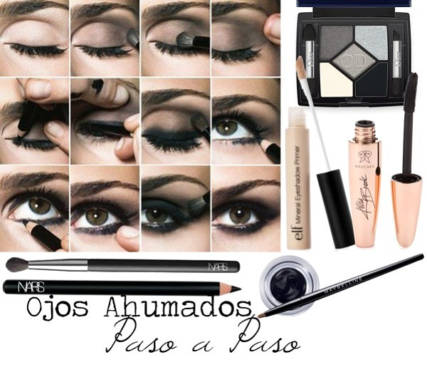 Cmo maquillarse los ojos paso a paso simple awesome for Como maquillar ojos ahumados paso a paso