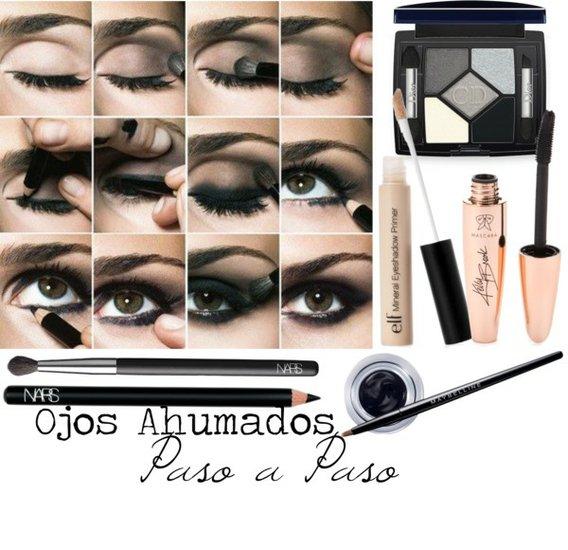 Maquillaje de ojos ahumados paso a paso estilo de vida y - Como maquillarse paso apaso ...