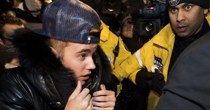Justin Bieber: dos arrestos en una semana